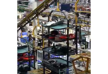 Производство мотоциклов в Китае на заводе Jialing